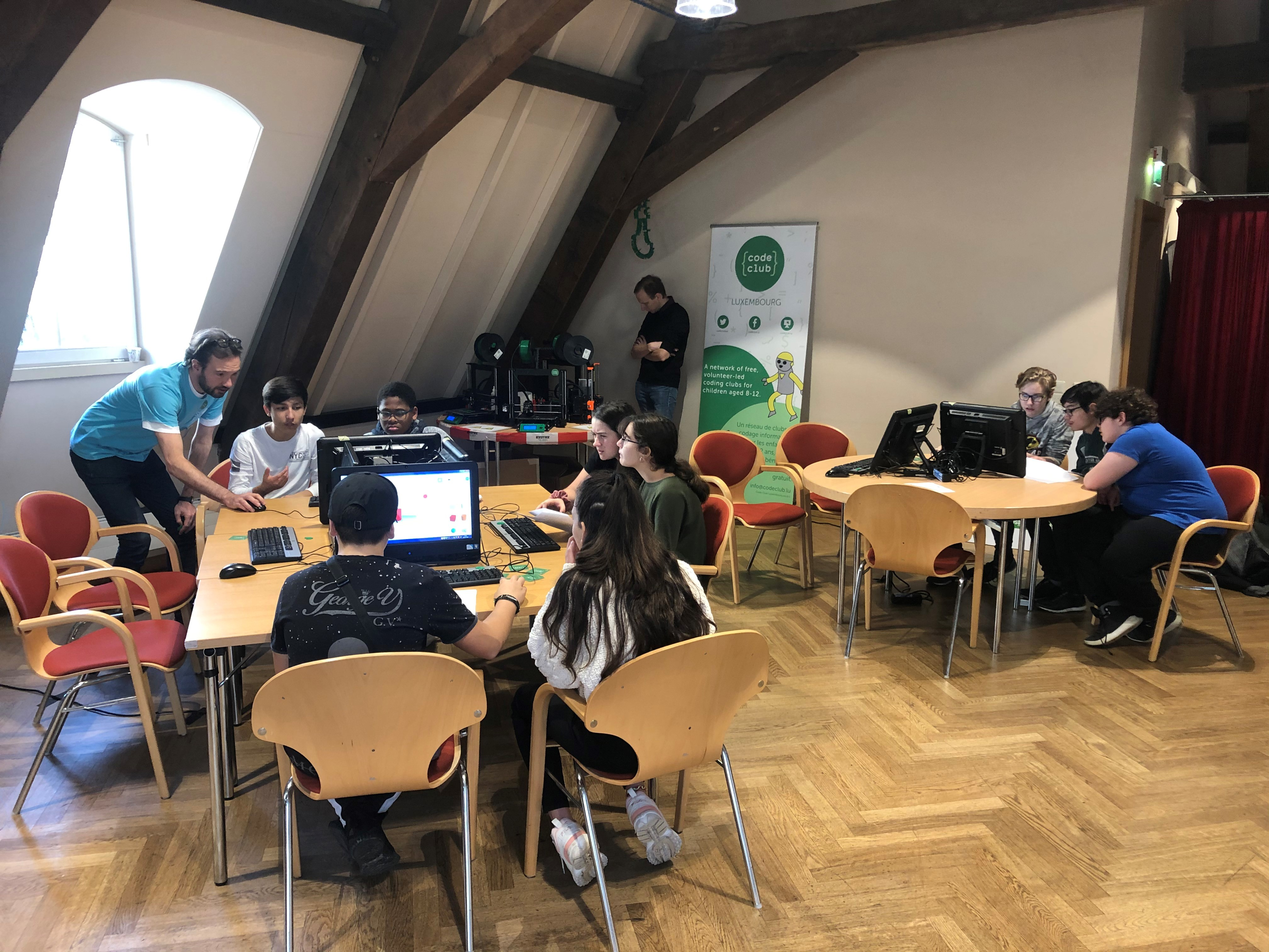 Workshop Code Club Science Festival 2019