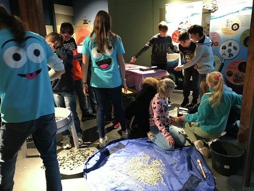 Workshop Fossilien 2 Science Festival 2019