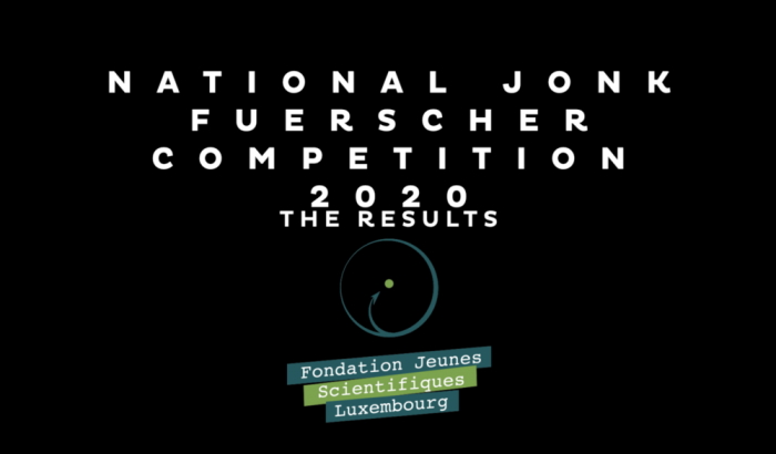 National Jonk Fuerscher Competition - Results 2020